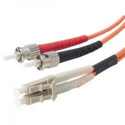 Belkin / Linksys - F2F202L0-20M - Belkin - Patch cable - LC/PC multi-mode (M) to ST/PC multi-mode (M) - 66 ft - fiber optic - 62.5 / 125 micron - orange