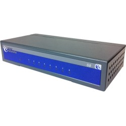 Amer Networks - S8 - Amer 8 Port 10/100Mbps Ethernet Switch - 2 Layer Supported - Lifetime Limited Warranty