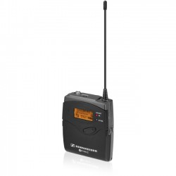 Sennheiser - SK100G3-G - Sennheiser SK 100 G3 Wireless Bodypack Microphone Transmitter - 566 MHz to 608 MHz Operating Frequency - 80 Hz to 18 kHz Frequency Response
