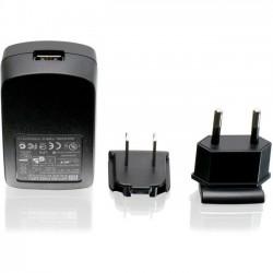IOGear - GPA60002 - IOGEAR 1A USB Power Adapter w/US & EU Plugs - 65 W Output Power - 110 V AC, 220 V AC Input Voltage - 5 V DC Output Voltage - 1 A Output Current
