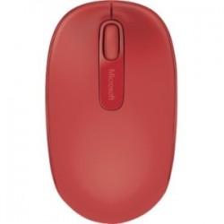 Microsoft - U7Z-00031 - Microsoft 1850 Mouse - Wireless - Flame Red