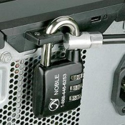 Compulocks Brands - CL-30NT - Compulocks Computer Cable Lock Kit, With 3 Dial Combination Padlock