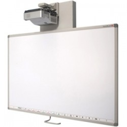 TeamBoard - TMTAT3PC - Egan TeamBoard Wall Mount for Projector, Interactive Whiteboard - 77 to 85 Screen Support - Metallic