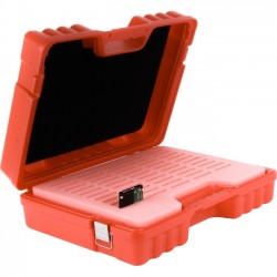 Turtle Cell - 09-679121 - Turtle Hard Drive 2.5 - 50 Capacity Red - Foam, Stainless Steel - Red - 50 Hard Drive