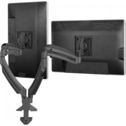 Chief - K1D220SXDL - Chief KONTOUR K1D220SXDL Desk Mount for Flat Panel Display - 10 to 30 Screen Support - 50 lb Load Capacity - Aluminum - Silver