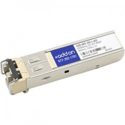 AddOn - 100-M5-SN-I-AO - AddOn McData 100-M5-SN-I Compatible TAA Compliant 1000Base-SX SFP Transceiver (MMF, 850nm, 550m, LC) - 100% compatible and guaranteed to work