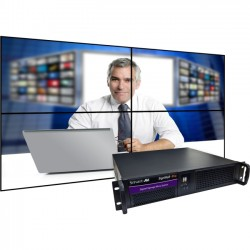 Smart AVI - AP-SVCH-001 - SmartAVI SignWall-Pro AP-SVCH-001 Digital Signage Appliance - Core i7 - 4 GB - 120 GB HDD - HDMI - DVIEthernet