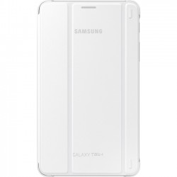 Samsung - EF-BT230WWEGUJ - Samsung Carrying Case (Book Fold) for 7 Tablet - White - 7.4 Height x 4.3 Width x 0.5 Depth