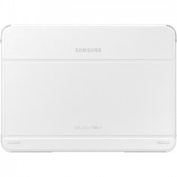 Samsung - EF-BT530BWEGUJ - Samsung Carrying Case (Book Fold) for 10.1 Tablet - White - 7.1 Height x 9.7 Width x 0.5 Depth