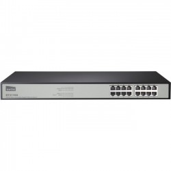 NETIS Systems - ST3116G - Netis 16 Port Gigabit Ethernet Rackmount Switch - 2 Layer Supported - Rack-mountable, Desktop