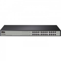 NETIS Systems - ST3124G - Netis 24 Port Gigabit Ethernet Rackmount Switch - 2 Layer Supported - Rack-mountable, Desktop