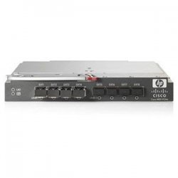 Hewlett Packard (HP) - AG642A - HP Cisco MDS 9124e Fabric Switch - 24 Ports - 4Gbps