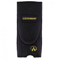 Leatherman Tool - 934810 - Leatherman Premium Nylon Sheath for Wave - Top-loading - Nylon - Black