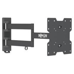 Tripp Lite - DWM1742MA - Tripp Lite Display TV Wall Monitor Mount Arm Swivel/Tilt 14 to 42 TVs / Monitors / Flat-Screens - 77 lb Load Capacity - Metal - Black