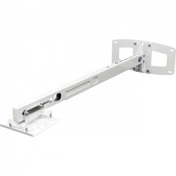 Optoma - BM-3300ST - Optoma BM-3300ST Wall Mount for Projector - 33 lb Load Capacity - Steel - White