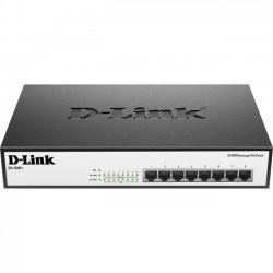 D-Link - DES-1008P+ - D-Link DES-1008P+ 8-Port 10/100 Unmanaged Desktop or Rackmount PoE+ Switch - 8 x Fast Ethernet Network - 2 Layer Supported - Desktop, Rack-mountable - Lifetime Limited Warranty
