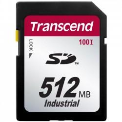 Transcend - TS512MSD100I - Transcend Industrial 512 MB SD - 17 MB/s Read - 13 MB/s Write - 1 Card