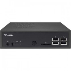 Shuttle Computer - D8100S-W-Q20413 - Shuttle DS81 Digital Signage Appliance - HDMI - USB - SerialEthernet - Black