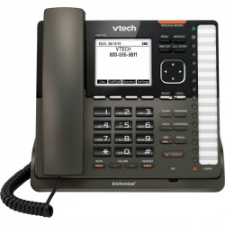 VTech - VSP735 - ErisTerminal VSP 735 Entry-Level Deskset SIP Phone (PoE) - Includes Power Supply