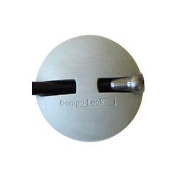 Compu-Lock - NOTESAVER-1 - Compu-Lock NOTESAVER-1 NoteSaver Cable Lock - Steel - 5 ft