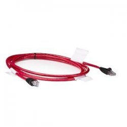 Hewlett Packard (HP) - 263474-B22 - HP Cat5 Patch Cable - RJ-45 Male - RJ-45 Male - 6ft - Red