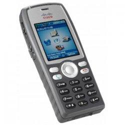 Cisco - CP-7925G-A-K9= - Cisco 7925G Unified Wireless IP Phone - 1 x Sub-mini phone Headset, 1 x Mini Type B USB - 6Phoneline(s) - Handheld