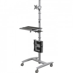 Best-Rite / MooreCo - 27614 - Beta Cart - Adjustable Sit And Stand Workstation