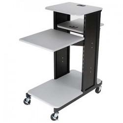 Best-Rite / MooreCo - 27521 - Balt Xtra Long Presentation Cart - Steel - Gray