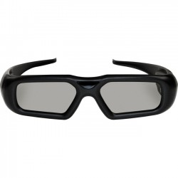 Optoma - ZF2300GLASSES - Optoma RF 3D Glasses - For Projector - Shutter - 50 ft - Radio Frequency - Battery Rechargeable - Black
