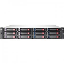 Hewlett Packard (HP) - AW567A - HP-IMSourcing StorageWorks P2000 G3 SAN Array - 192 TB Supported HDD Capacity - Fibre Channel Controller - 12 x Total Bays - Fibre Channel, iSCSI - 2U Rack-mountable