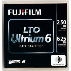 Fujifilm - 81110000932 - Fujifilm LTO Ultrium-6 Data Cartridge - LTO-6 - Labeled - 2.50 TB (Native) / 6.25 TB (Compressed) - 2775.59 ft Tape Length - 20 Pack