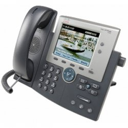 Cisco - CP-7945G-RF - Cisco 7945G Unified IP Phone - 2 x RJ-45 10/100Base-TX - Wall-mountable
