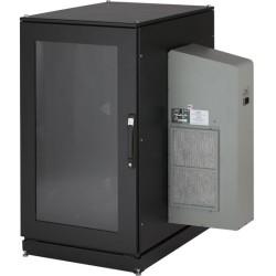 Black Box Network - CC24U8000M631-R2 - Black Box ClimateCab NEMA 12 Server Cabinet with M6 Rails - 19 24U Wide for Server - Steel, Plexiglass - 2000 lb x Maximum Weight Capacity