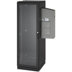 Black Box Network - CC42U8000T-R2 - Black Box ClimateCab NEMA 12 Server Cabinet with Rapped Rails - 19 42U Wide for Server - 2000 lb x Maximum Weight Capacity