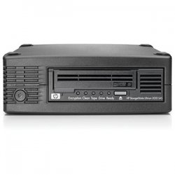 "Hewlett Packard (HP) - EH958SB - HP StorageWorks LTO Ultrium 5 Tape Drive - LTO-5 - 1.50 TB (Native)/3 TB (Compressed) - SAS - 5.25"" Width - 1/2H Height - External - 140 MB/s Native - 280 MB/s Compressed - Linear Serpentine - 3 Year Warranty"