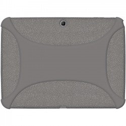 Amzer - 96100 - Amzer Silicone Skin Jelly Case - Grey - Tablet - Gray - Silicone, Jelly