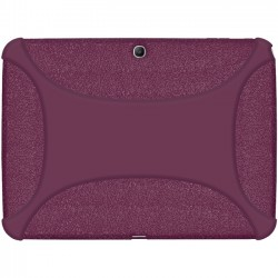 Amzer - 96103 - Amzer Silicone Skin Jelly Case - Purple - Tablet - Purple - Silicone, Jelly