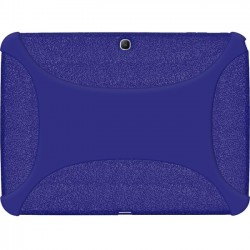 Amzer - 96104 - Amzer Silicone Skin Jelly Case - Blue - Tablet - Blue Textured - Silicone