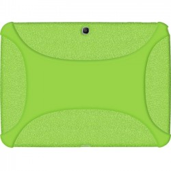 Amzer - 96106 - Amzer Silicone Skin Jelly Case - Green - Tablet - Green Textured - Silicone
