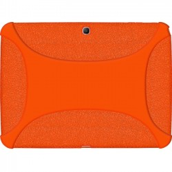 Amzer - 96107 - Amzer Silicone Skin Jelly Case - Orange - Tablet - Orange Textured - Silicone