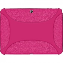 Amzer - 96108 - Amzer Silicone Skin Jelly Case - Hot Pink - Tablet - Hot Pink - Silicone, Jelly