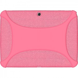 Amzer - 96109 - Amzer Silicone Skin Jelly Case - Baby Pink - Tablet - Baby Pink - Silicone, Jelly