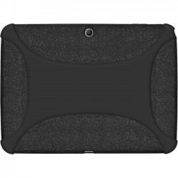Amzer - 96101 - Amzer Silicone Skin Jelly Case - Black - Tablet - Black Textured - Silicone