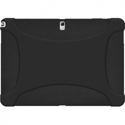 Amzer - 96841 - Amzer Silicone Skin Jelly Case - Black - Tablet - Black - Textured - Silicone, Jelly