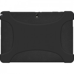 Amzer - 96921 - Amzer Silicone Skin Jelly Case - Black - Tablet - Black - Silicone, Jelly