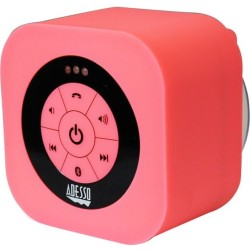 Adesso / ADS Technologies - XTREAMS1P - Adesso Xtream Xtream S1P Speaker System - Wireless Speaker(s) - Battery Rechargeable - Wall Mountable - Pink - 150 Hz - 20 kHz - 30 ft - Bluetooth - USB