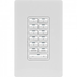 AMX - FG5793-02-WH - AMX Metreau 13-Button Ethernet Keypad