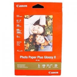 "Canon - 2311B024 - Canon Photo Paper - 5"" x 7"" - Glossy - 20 / Pack"