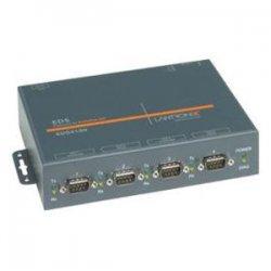Lantronix - ED41000P0-01 - Lantronix EDS4100 4-Port Device Server with PoE - 4 x DB-9 , 1 x RJ-45