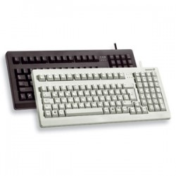 Cherry - G80-1800LPCEU-2 - Cherry G80-1800 Keyboard - Cable Connectivity - USB Interface - English (US) - Black